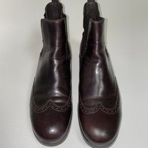 ALBERTO GUARDIANI Leather Boots ITALY
